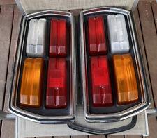 DATSUN 1977-81 SKYLINE C210-C211 240K GT GENUINE LH-RH COMPLETE TAIL-LIGHTS!! EC