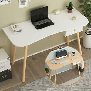 Computer Table PC Desk Storage Drawer Combo Office Study Book Shelf Workstation
