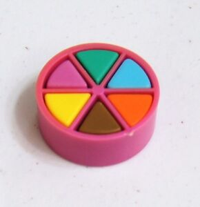 Trivial Pursuit Board Game Replacement Parts PINK MOVER 6 Wedge Pieces Pie Token