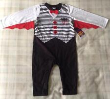 Baby Boys Halloween Dracula/Vampire Babygrow Fancy Dress/Costume ~ 6-9 Mths ~New