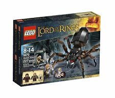 LEGO The Lord of the Rings 9470 Shelob Attacks w/ Frodo Sam Gollum - NISB, Rare