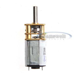 12mm 6V DC 300RPM High torque Gear Box Electric Motor Mini Machinery