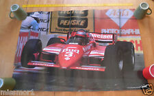 """1984 Mario Andretti #711 Lolu T-800 Auto Racing poster 24x36"""""""