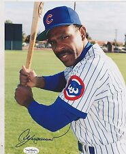8x10 SIGNED PHOTO  #680 -  SPORTS -BASEBALL - ANDRE DAWSON - CHICAGO CUBS