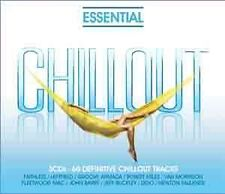 ESSENTIAL CHILLOUT 3CD NEW Faithless Leftfield Groove Armada Robert Miles