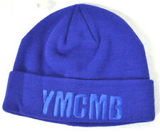NEW YMCMB YOUNG MONEY men/women casual fashion BEANIE hat BLUE/BLUE *ONE SIZE
