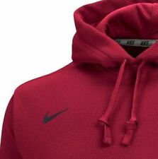 Nike Fleece KO Hoodie Therma-fit 4xl  Men's Crimson / gray $85.00 Ret.