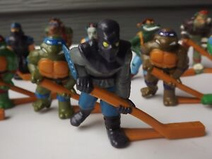 Vintage Remco Toys TMNT Subterranean Sewer Hockey Team Turtle Figures You Choose