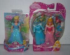 Disney 2 Polly Pocket Dolls Cinderella & Sleeping Beauty NEW