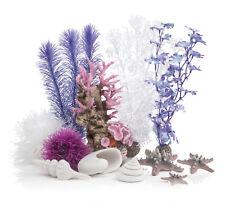 biOrb Aquarium Dekoration Decor Set 30L Pink Ocean 26 x 31 x 18 cm