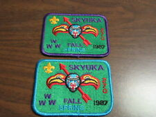 Skyuka 270 1987 Spring and Fall Patches             c46