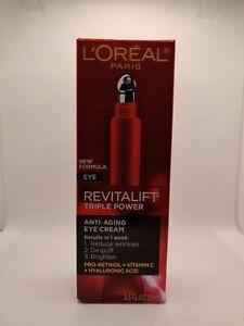 L'Oréal Paris RevitaLift Triple Power Anti-Aging Eye Cream 0.5 oz.
