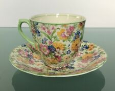 Grindley Creampetal Tea Cup & Saucer Made in England GORGEOUS CHINTZ