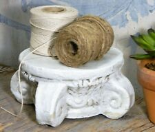 Display Stand/Riser/Column/Capital/Architectural Pedestal Base/Pottery/White