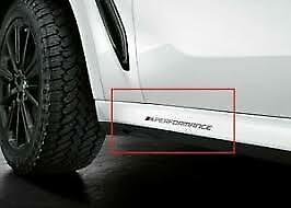 M Performance Decal Badge Set Genuine BMW 51142461811