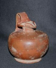 ancienne oenochoé à engobe rouge archéologie I er, II ème avant méditéranée