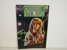 DC-1971 # 92-The House Of Secrets-There's No Escape-Swamp Thing-Comic-FN+