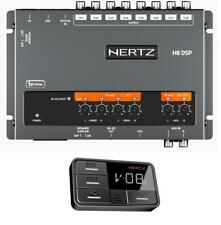 Hertz H8 8-channel DSP Time Align 31 band EQ with remote control display