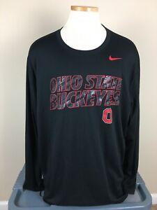 Nike Dri-Fit Ohio State Buckeyes Long Sleeve Shirt Men's Size 3XL  EUC