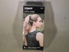 Conair Pony Wrap 3pcs  Creates Wrapped Ponytail With Your Own Hair           H3