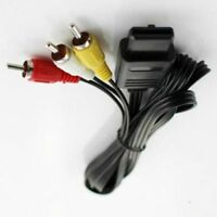 AV Audio Video Lead TV RCA Cable for SNES Nintendo N64 64 Gamecube Composite JB