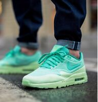 NIKE AIR MAX 1 ULTRA MOIRE Trainers 3M Reflective UK Size 11 (EUR 46) Green Glow