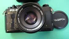 Yashica FX-3  35mm Camera W/ Yashica DSB 50 mm f/1.9  Lens Great student camera.