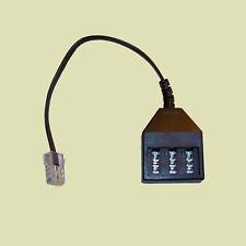Adapter 8P4C Stecker RJ45 TAE NFN Buchse Kupplung Telefon Netzwerk
