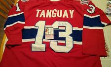 ALEX TANGUAY signed custom CANADIENS jersey JSA COA SIZE XL