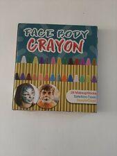 Face Body Crayon 28 Color Makeup Sticks Non Toxic Easy To Clean