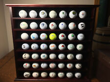 Huge Lot Logo Golf Balls Lot of 49 Balls Golf Courses Company Logos w/ Display