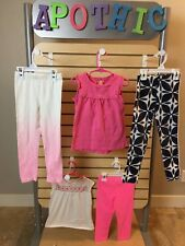 Lot of 8 Girls Spring, Summer Shirts, Pants, Capris, Shorts- Sz 6