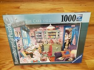 RAVENSBURGER MY HAVEN No 5- THE CAKE SHEDV1000 PIECES JIGSAW PUZZLE