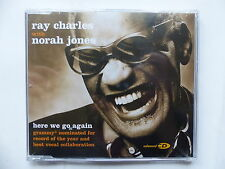 CD 3 titres RAY CHARLES with NORAH JONES Here we go again 7243 8 70992 0 3