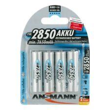 4x ANSMANN NiMH Akku Mignon AA Typ 2850mAh (min. 2650mAh) HR6 5035212