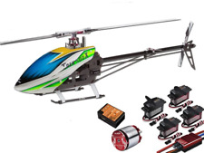 Align T-Rex 500X Dominator Super Combo Helicopter with  DS530/DS535 Servos