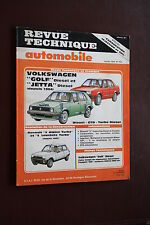 REVUE TECHNIQUE AUTOMOBILE N° 463 GOLF D-JETTA D-RENAULT 5 ALPINE TURBO-309