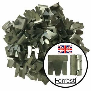 Wire mesh clips 180 QTY Forrest® ideal for cage aviary repair fencing Gabions