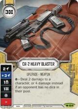x1 CR-2 Heavy Blaster 104 Rare Star Wars Destiny Way of the Force M/NM