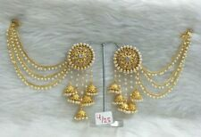 Indian Bollywood Designer Gold Plated Jhumka Earrings Ethnic Women Jewelry