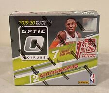 2019-20 Donruss Optic FOTL Basketball Premier Edition Factory Sealed HOBBY BOX