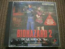 PS1 Biohazard 2 Dual Shock ver Japan PS PlayStation 1 F/S