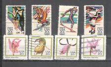 S6879 - USA 1984 - SERIE COMPLETE OLIMPIADI,FIORI - VEDI FOTO