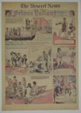 PRINCE VALIANT Full Color SATURDAY PAGE King Features Hal Foster 3/29/1941, #215
