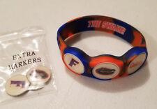 Wrist Skins Golf Ball Marker Bracelet, Florida Gators, Magnetic, Size - L, M, S