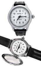 VOSTOK Blindenuhr Uhr für Sehbehinderte mechanische russische UhrBraille-Uhren