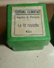 Perlin & Pinpin; Le lit roulotte Filmostat 1950 Film Fixe N° 6221 CUVILLIER
