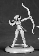 Silver Marksman, Super Heroine Miniature by Reaper Miniatures RPR 50215