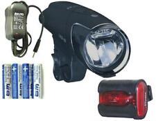 B&M IXON IQ PREMIUM 80 LUX spots LED Batterie+Chargeur+ix-back Feu arrière
