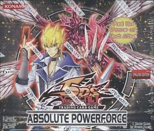 YUGIOH ABSOLUTE POWERFORCE BOOSTER 12 BOX CASE BLOWOUT CARDS